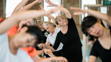 Sunshine Coast Ballet for Seniors Classes for Senior's Week