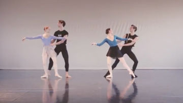 Example of Choreographic Devices: Choreography Excerpt, Greg Horsman's Coppélia