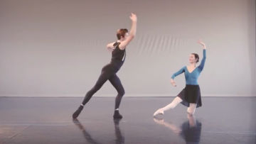 Example of Partnering: Choreography Excerpt, Greg Horsman's Coppélia