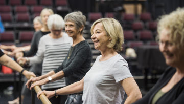 Ballet for Seniors - Centre Stage
